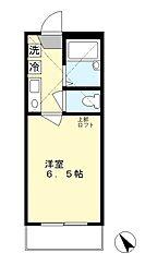 パレットワン百合ヶ丘[2階]の間取り