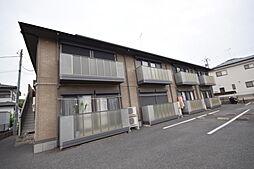 栃木県宇都宮市針ヶ谷町の賃貸アパートの外観