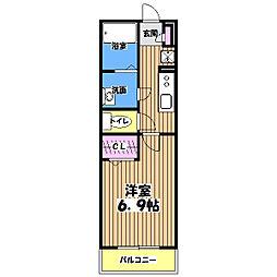 リブリ・エスクード[2階]の間取り