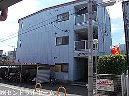 大阪府堺市北区百舌鳥陵南町2丁の賃貸マンションの外観