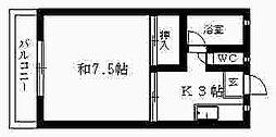 メゾン鴨江 I[201号室]の間取り