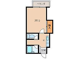 フローラゆかわII[2階]の間取り