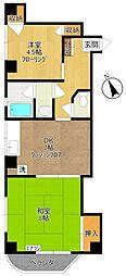 UNOマンション[2階]の間取り