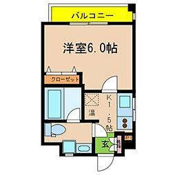 Ritz小阪[601号室号室]の間取り