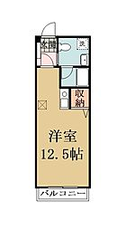 埼玉県草加市瀬崎5丁目の賃貸マンションの間取り