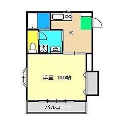 セントファームYOU[2階]の間取り