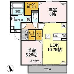 仮)D-room半田市大高町 A棟[103号室]の間取り