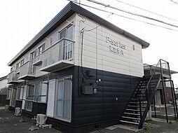 エフシリーズ東富井A棟[2階]の外観