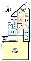 シエロⅠ[1階]の間取り