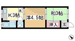 兵庫県神戸市長田区長田天神町5丁目の賃貸マンションの間取り