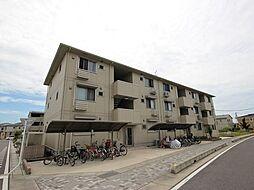 埼玉県越谷市大字三野宮の賃貸アパートの外観
