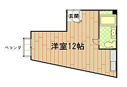 マンションふさの[4階]の間取り