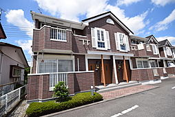栃木県宇都宮市兵庫塚3丁目の賃貸アパートの外観