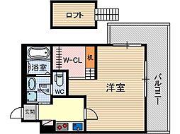 メゾンプレジール[1階]の間取り