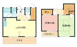 [テラスハウス] 埼玉県川口市芝富士2丁目 の賃貸【/】の間取り
