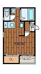 シャングリラ町田[3階]の間取り