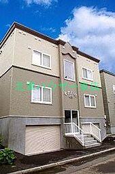 北海道札幌市東区北四十九条東17丁目の賃貸アパートの外観