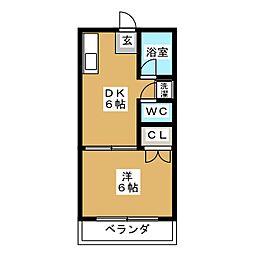 ガネーシャ994[1階]の間取り