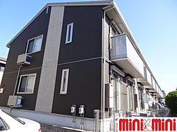 佐賀県佐賀市若宮1の賃貸アパートの外観