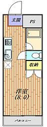 パークライフ平塚[203号室号室]の間取り