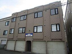 北海道札幌市東区北十八条東13丁目の賃貸アパートの外観