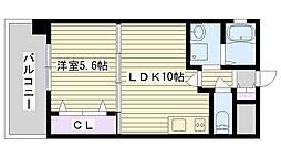 コンフォート鶴見[60D号室]の間取り