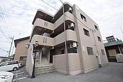 栃木県宇都宮市鶴田2丁目の賃貸アパートの外観