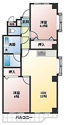 ボナールFUJI[2階]の間取り