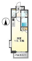 エルスタンザ東別院[10階]の間取り