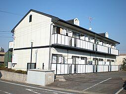 愛知県長久手市平池の賃貸アパートの外観