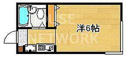 ガーデンコート21[201号室号室]の間取り
