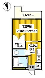 KOYO金沢八景[302号室]の間取り