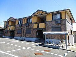 千葉県木更津市清見台3丁目の賃貸アパートの外観