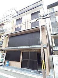 京都府京都市下京区西玉水町の賃貸マンションの外観