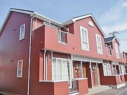 千葉県茂原市新小轡の賃貸アパートの外観
