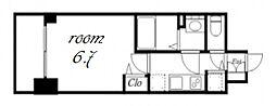 プレサンス金山デュアル[9階]の間取り