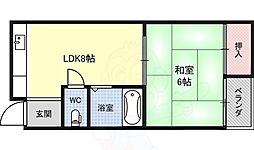 長堀橋駅 4.7万円