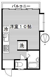 ハイツフレンド玉村I[2階]の間取り