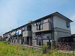 エクセルハイツA棟[2階]の外観