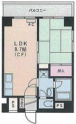 モルゲンロート蒔田[2階]の間取り