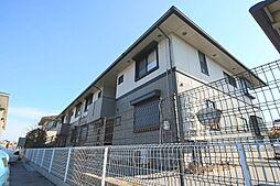 滋賀県大津市下阪本5丁目の賃貸アパートの外観