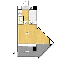 パンルネックス・クリスタル大濠II[4階]の間取り
