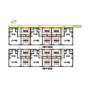 間取り,2LDK,面積59.4m2,賃料3.0万円,,,北海道釧路市緑ケ岡2丁目6-23