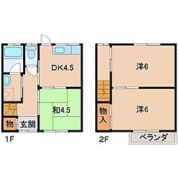 コーポ津田[2階]の間取り