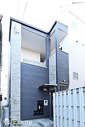 愛知県名古屋市西区香呑町5丁目の賃貸アパートの外観