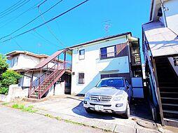 東京都清瀬市下清戸1の賃貸アパートの外観