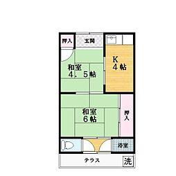 [一戸建] 大阪府四條畷市岡山2丁目 の賃貸【/】の間取り