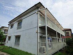 埼玉県越谷市大間野町2丁目の賃貸アパートの外観