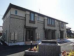 愛媛県伊予市米湊の賃貸アパートの外観