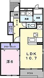 きぼう[1階]の間取り